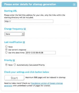 site map tutorials beyond iweb